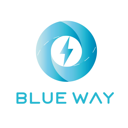 Logo Blue Way Sach